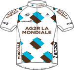 Maglia della Ag2r - La Mondiale