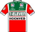 Maglia della 7 Eleven - Hoonved