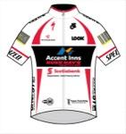 Maglia della Accent Inns Russ Hay's Cycling Team
