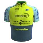 Maglia della Bennelong Swisswellness Cycling Team