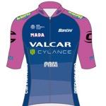 Maglia della Valcar Cylance Cycling