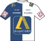 Maglia della Acceptcard Pro Cycling